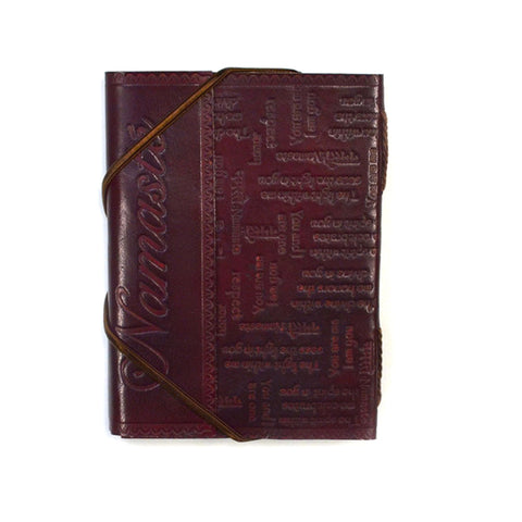Namaste Cruelty Free Leather Journal