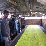 Making Block Printed Prayer Flags in Nepal