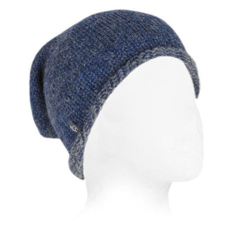 Baby Alpaca Beanie Hat Royal Blue