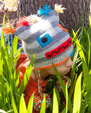 Fun Fair Trade Kids Adventure Hats Robot
