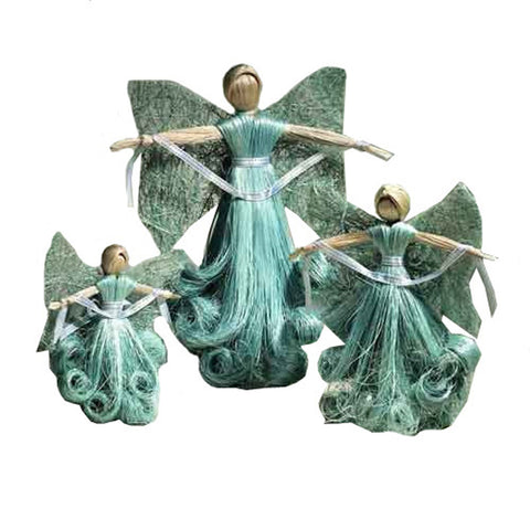 Abaca Angels Set of Three