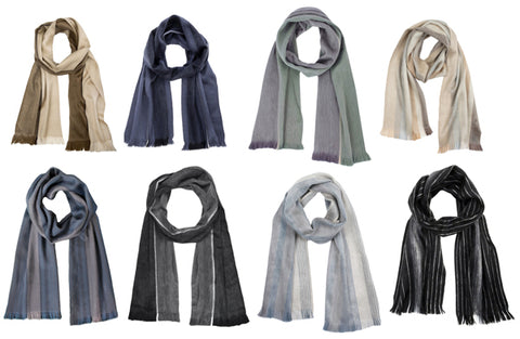 Luxuriously Soft Alpaca Winter Scarves
