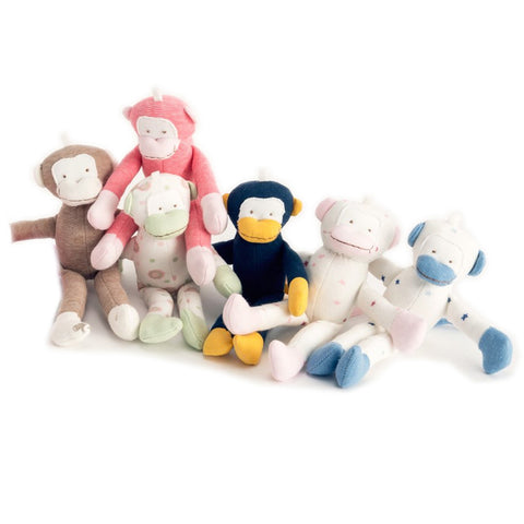 Colorful Organic Monkey Teething Toy