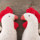 Organic Clucky Chicken Toy