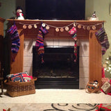 Keepsake Quality Handknit Wool Christmas Stockings Christmas Trees