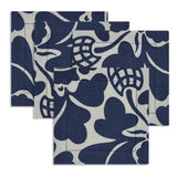 Fabric Coaster Set of 4 Indigo