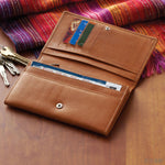 Cocoa Leather Wallet