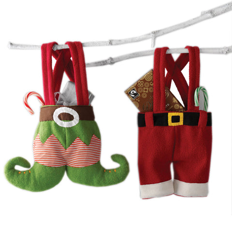Santa & Elf Pocket Stockings