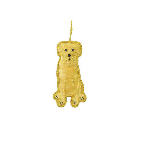 Heirloom Quality Golden Puppy Ornament