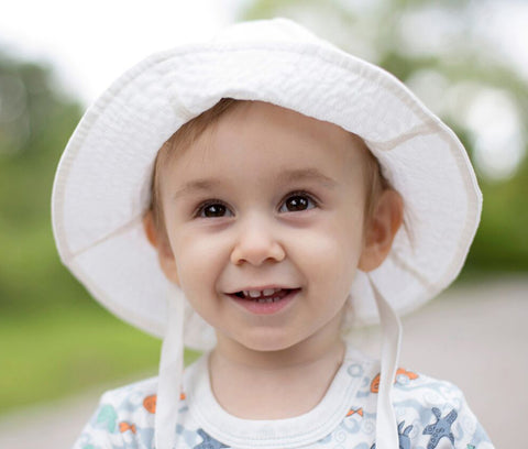 Organic Cotton Baby Sun Hat