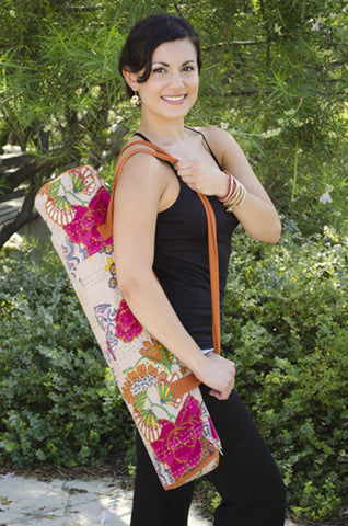 Brightly Colored Jogi Yoga Mat Bag