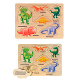 Lift & Learn Dinosaur Puzzle