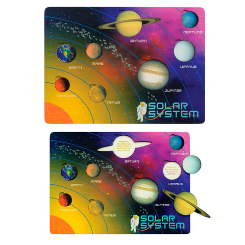 Lift & Learn Solar System Puzzle - USA
