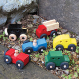 Handcrafted Wooden Car Toys USA Made