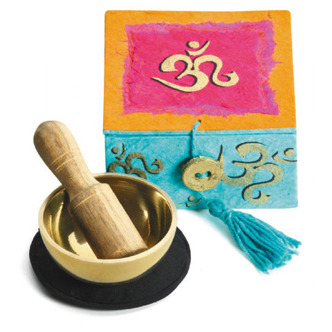 Om Mini Meditation Bowl Box: 2""