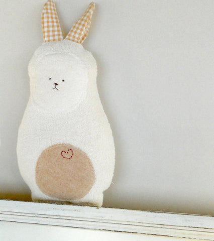Soft Organic Bunny Rabbit Doll