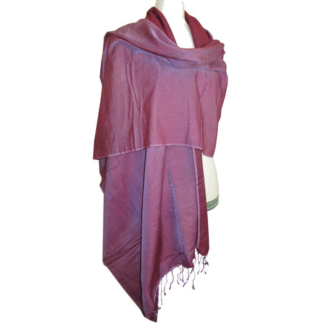 Luxurious Shawl Berry