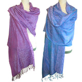 Luxurious Shawl with Design - Feel of Pashmina