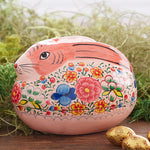 Decorative Pink Bunny Trinket Box