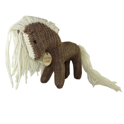 All Natural Handcrafted Knit Earth Pony