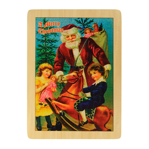 Old Fashioned Christmas Puzzle Made in the USA