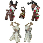 Sweet Baby Reindeer Ornament - Natural or Brown