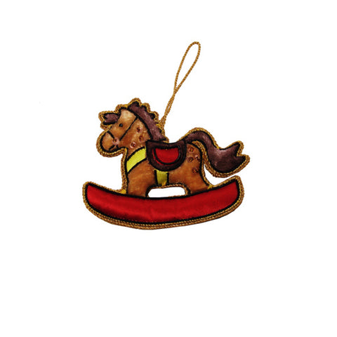 Heirloom Quality Rocking Horse Ornament