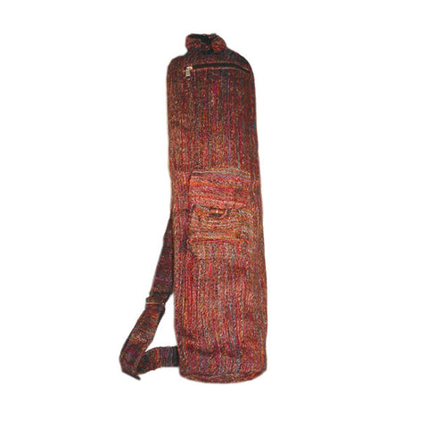 Recycled Silk Yoga Bag