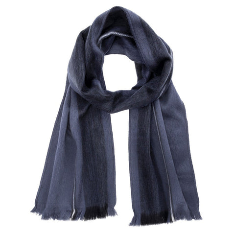 Luxuriously Soft Alpaca Winter Scarves Cobalt Royal Blue Dream