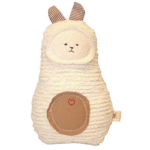 All Natural Handcrafted Chenille Bunny