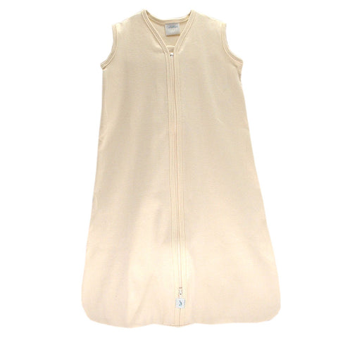 Sleeveless Organic Velour Cozy Sack American Made Natural