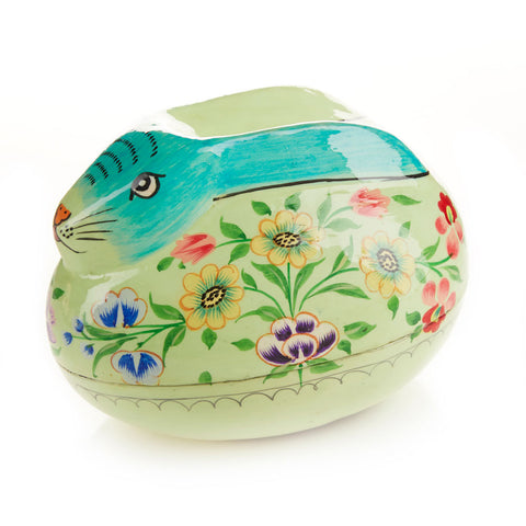 Spring Bunny Trinket Box - Easter Decor