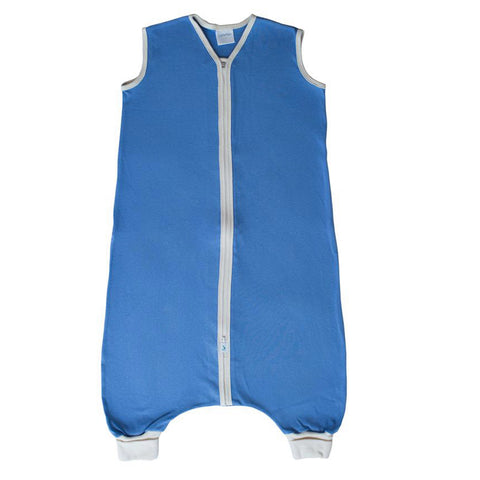 Organic Cotton Interlock Toddler Cozy American Made - Blue
