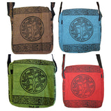 Tree of Life Block Print Bag