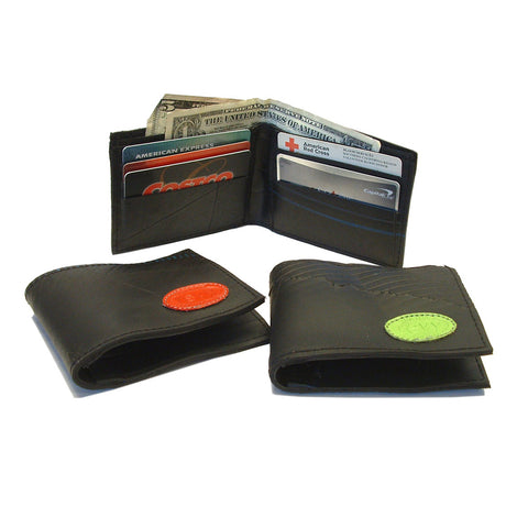 Recycled Rubber Tire Wallet with Logo