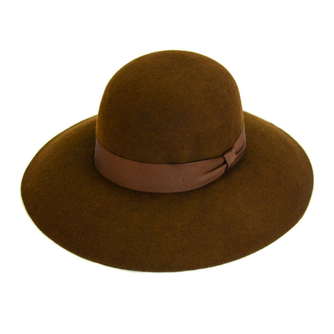 Wool Zoe Brim Hat