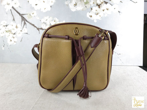 CARTIER Yellow Crossbody Bag
