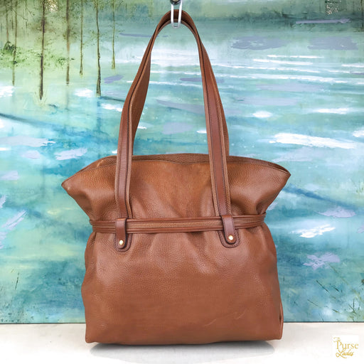 CELINE Brown Shoulder Bag
