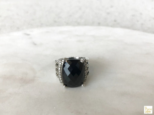 DAVID YURMAN Sterling Silver Wheaton Ring SZ 5.5