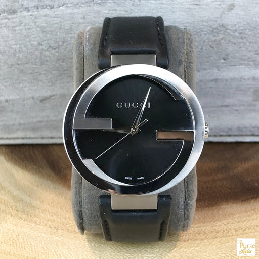 GUCCI Two-Tone Interlocking G Watch