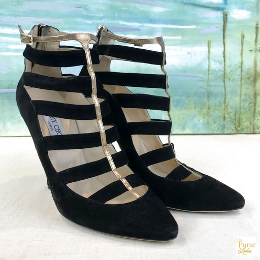 JIMMY CHOO Fathom Booties SZ 40