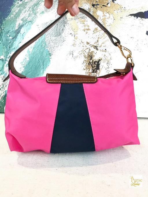 LONGCHAMP Pink Nylon Mini Tote Bag
