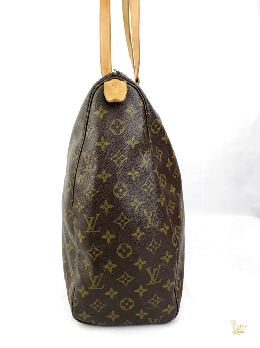 LOUIS VUITTON Brown Monogram Sac Flanerie 50 Weekender