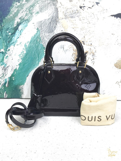 LOUIS VUITTON Amarante Vernis Alma BB
