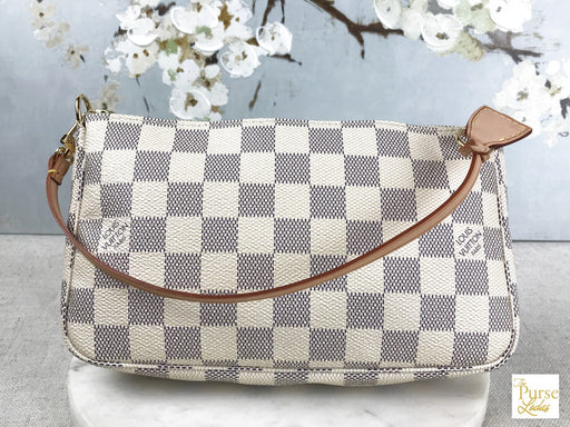 LOUIS VUITTON Damier Azur Pochette Accessories