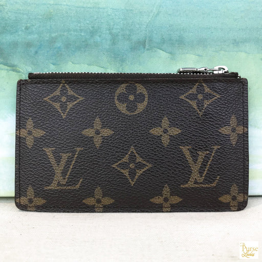 LOUIS VUITTON Brown Tribal Mask Key Cles Bag
