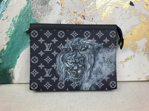 LOUIS VUITTON Chapman Brothers Toiletry Clutch Pochette Voyage