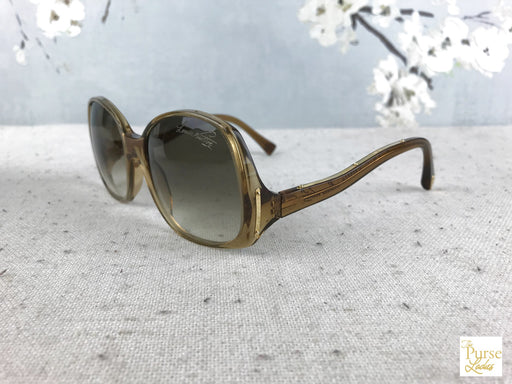 LOUIS VUITTON Gold Glitter Z0052W Gina Sunglasses