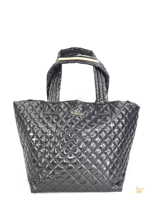 MZ WALLACE NWT Magnetic Gray Metro Tote Bag
