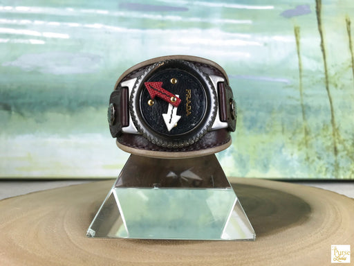 PRADA Fashion Watch Motif Bracelet
